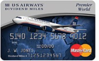 US Airways Premier World MasterCard Refer your friends and earn up to 50,000 bonus miles
