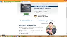 Chase Ink Cash Business Credit Card $300 Cash Back Offer til May 25, 2015