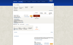Singapore Airlines First Class Ticket