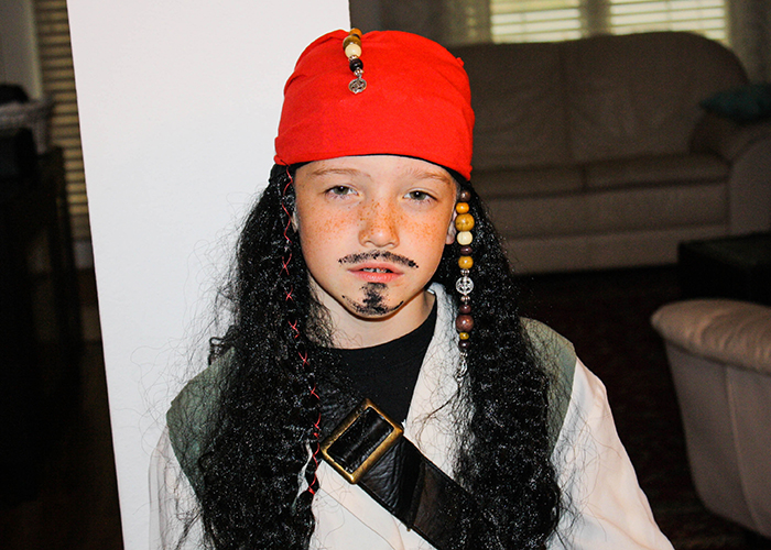 Easy Diy Jack Sparrow Costume Crazy Happy