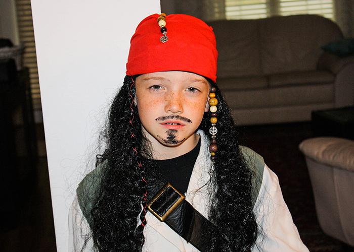 Marvelous Easy DIY Jack Sparrow Costume