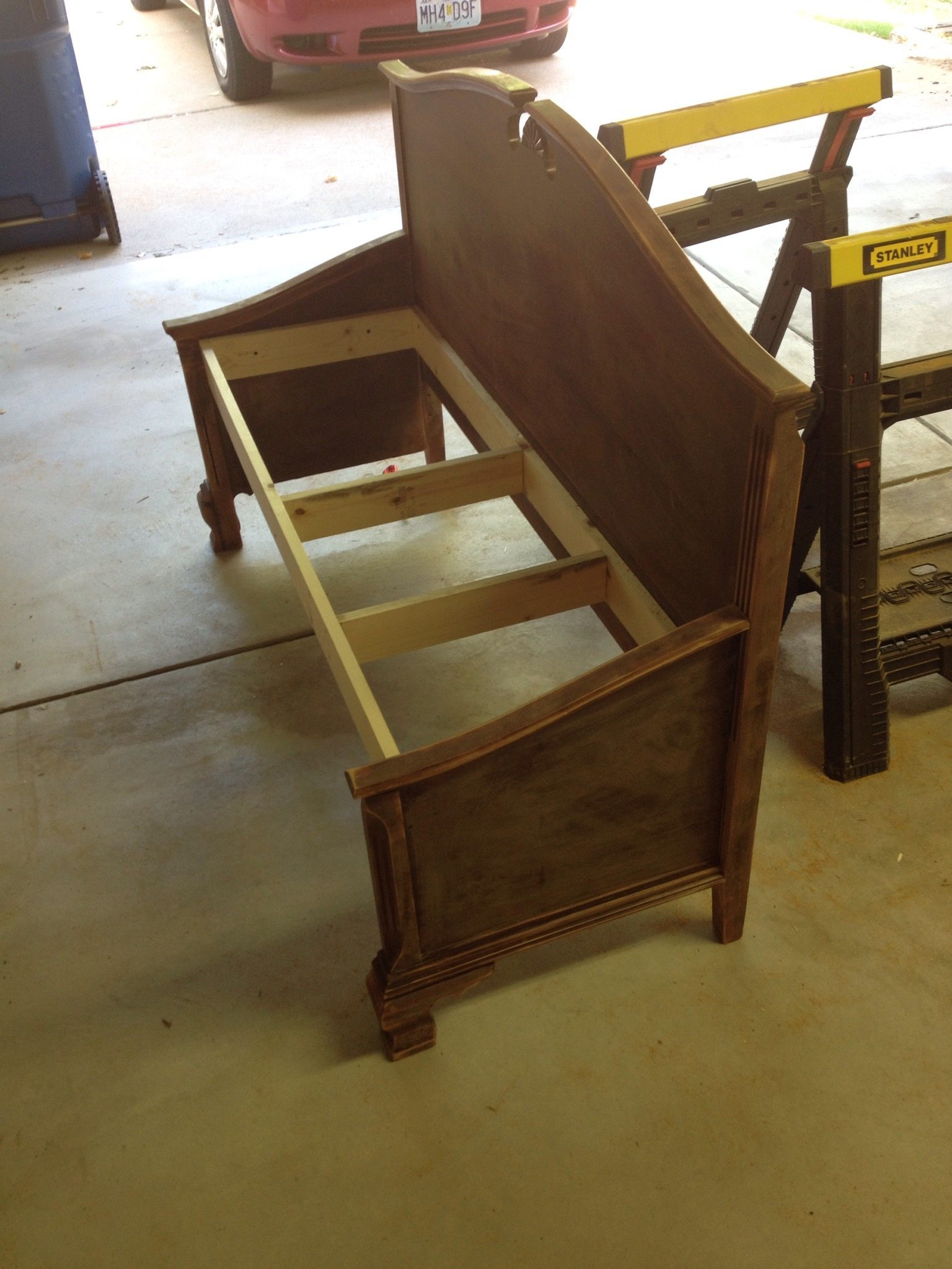 Headboard And Footboard Bench The Crazy Wade Family