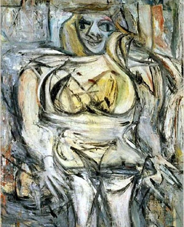 Willem-de-Kooning-Woman-III-1953-pinturas-costosas