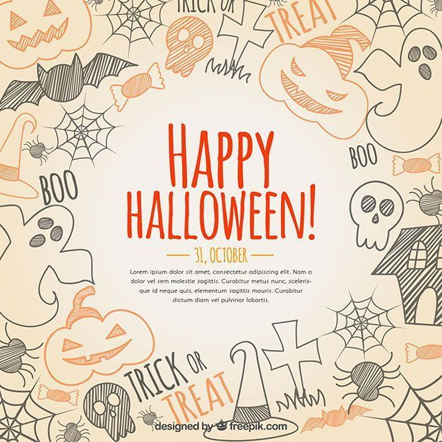 archivos-gratis-halloween-hand-drawn-background