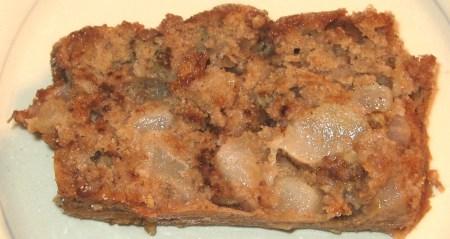 Vannilla Pear Bread at Create With Joy