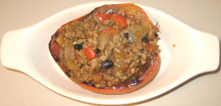 Savory Stuffed Acorn Squash at Create With Joy