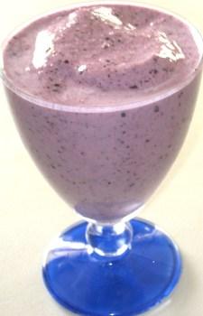 Blueberry Banana Smoothies