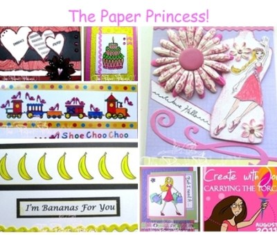 The Paper Princess - Amber Ink Recap Collage