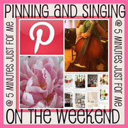 Pinning & Singing On The Weekends