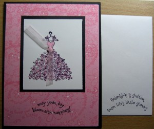 Bloom With Happiness - Card & Envelope
