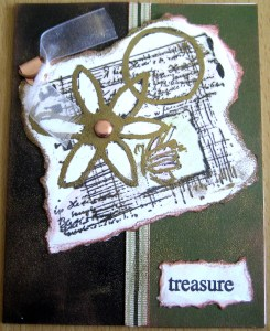 CTMH Lovely Daisy Collage Card