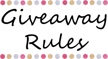 Giveaway Rules
