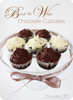Verena - Black & White Chocolate Cupcakes