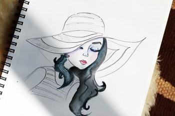 Elena - Fashion Sketch