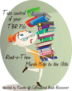 Take Control Of Your TBR Pile Read-A-Thon March 15 - 18