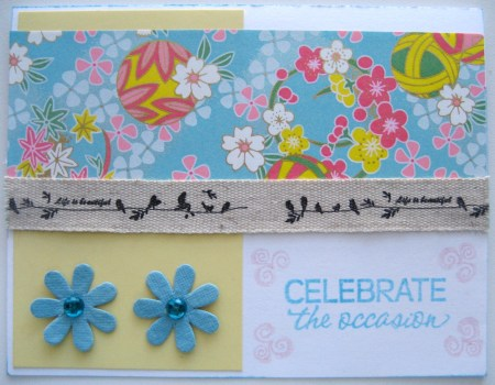 Celebrate The Occasion Card