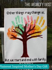 Handprint Tree - Memory Nest