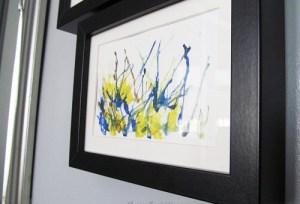 Straw Painting Art