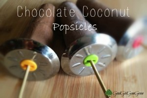 Chocolate Coconut Popsicles