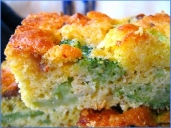 Bacon and Cheese Corn Bread