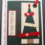 WOYWW - Christmas Tree Card