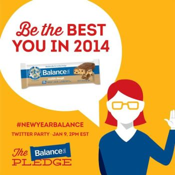 Balance Bar Giveaway and Twitter Party
