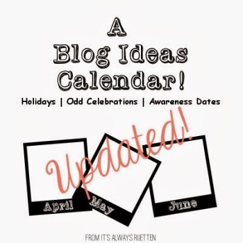 Bloggers Calendar