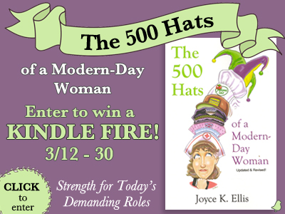 The 500 Hats Of A Modern Day Woman Kindle Fire Giveaway