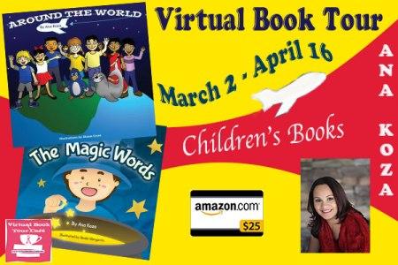 Around The World Book Tour