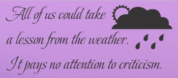 Weather Quote