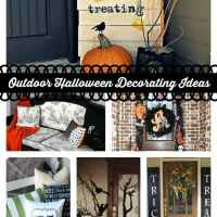 Outdoor Halloween Decorating Ideas