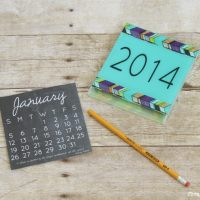 2014 DIY Calendar Case and 12 FREE Printables