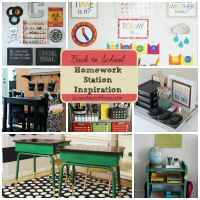Homework Station Inspiration