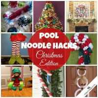Pool Noodle Hacks: Christmas Edition