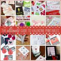 The ULTIMATE Guide to Valentine Printables