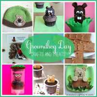 Groundhog Day Crafts and Treats