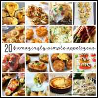 20+ Amazingly Simple Appetizers