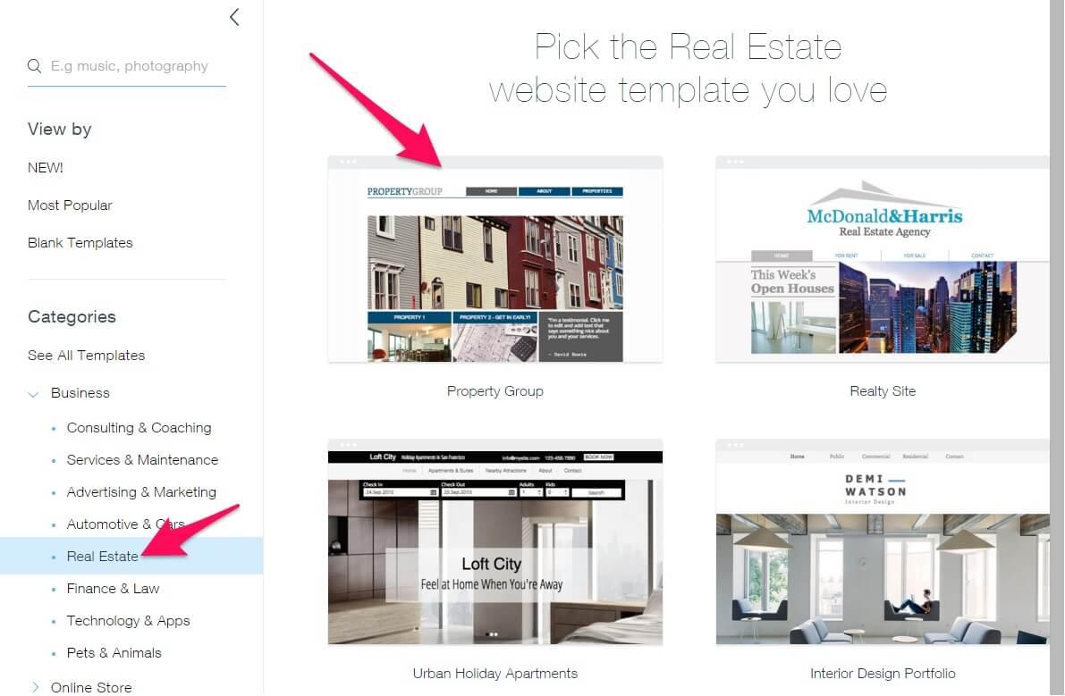 1 easy real estate website builder to boost your online reach. Black Bedroom Furniture Sets. Home Design Ideas