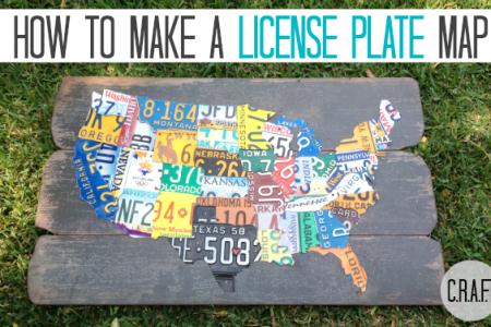 diy license plate map {update} c.r.a.f.t.