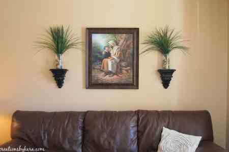 living room wall decor 003