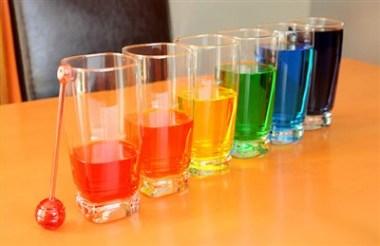 Xilofon din pahare cu apa colorata la care chiar poti canta - cum sa iti faci propria orchestra la tine acasa
