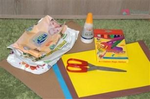 Casuta familiei - activitate pentru copii de la 1 an in sus - materiale necesare