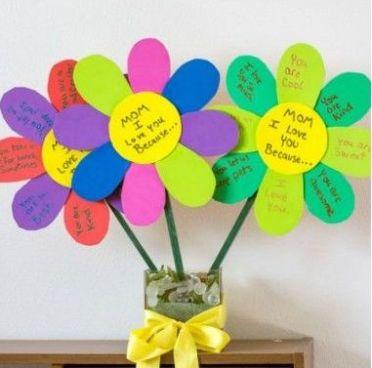 13 - 15 cadouri si felicitari pentru mama pe care le pot realiza copiii de 8 Martie