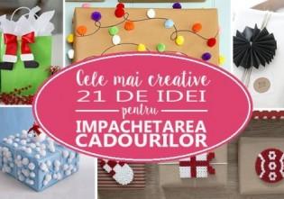 Cele mai creative 21 de idei pentru impachetarea cadourilor de sarbatori