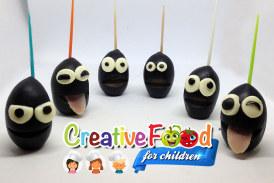 Pupazzetti con oliva – puppet