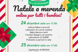 """Natale a merenda evento """"ON LINE"""" il 24 e 25 dicembre 2020 dalle ore 17:00"""