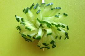 Decorazioni con cetriolo