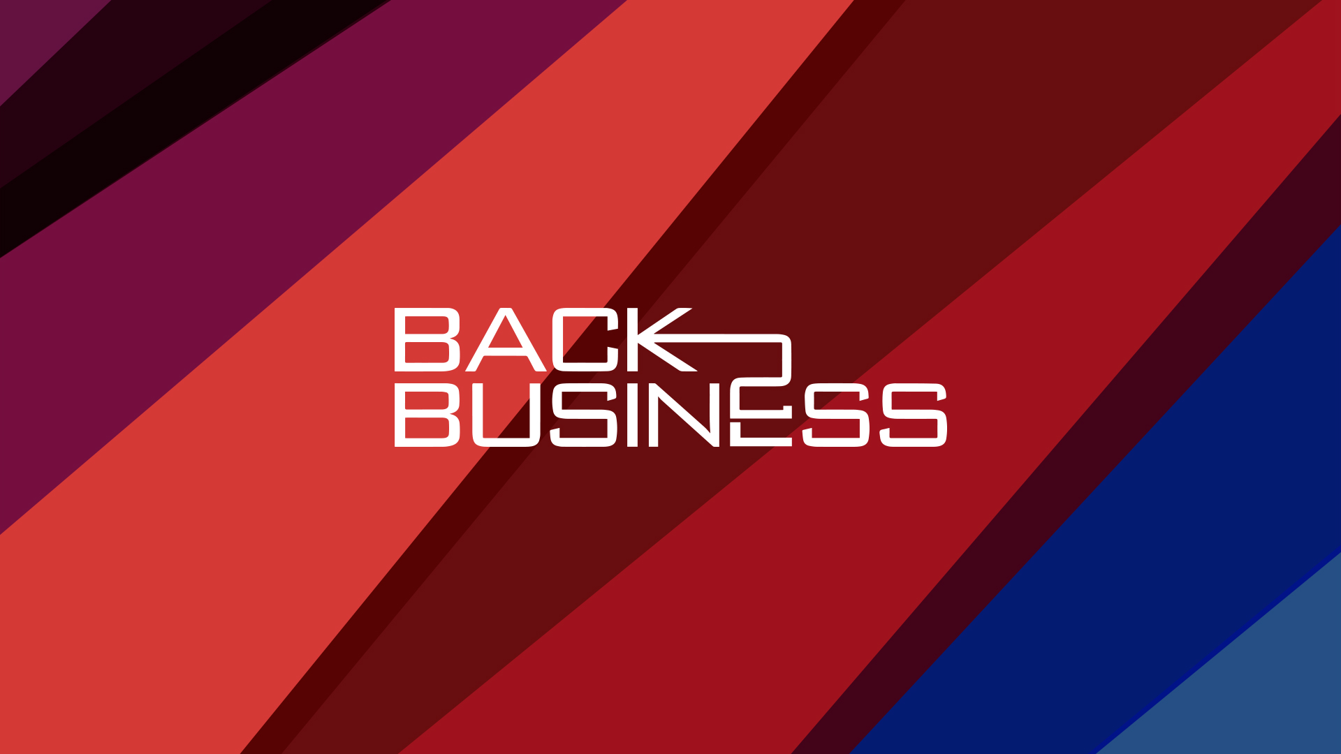 Back 2 Business Oman Branding