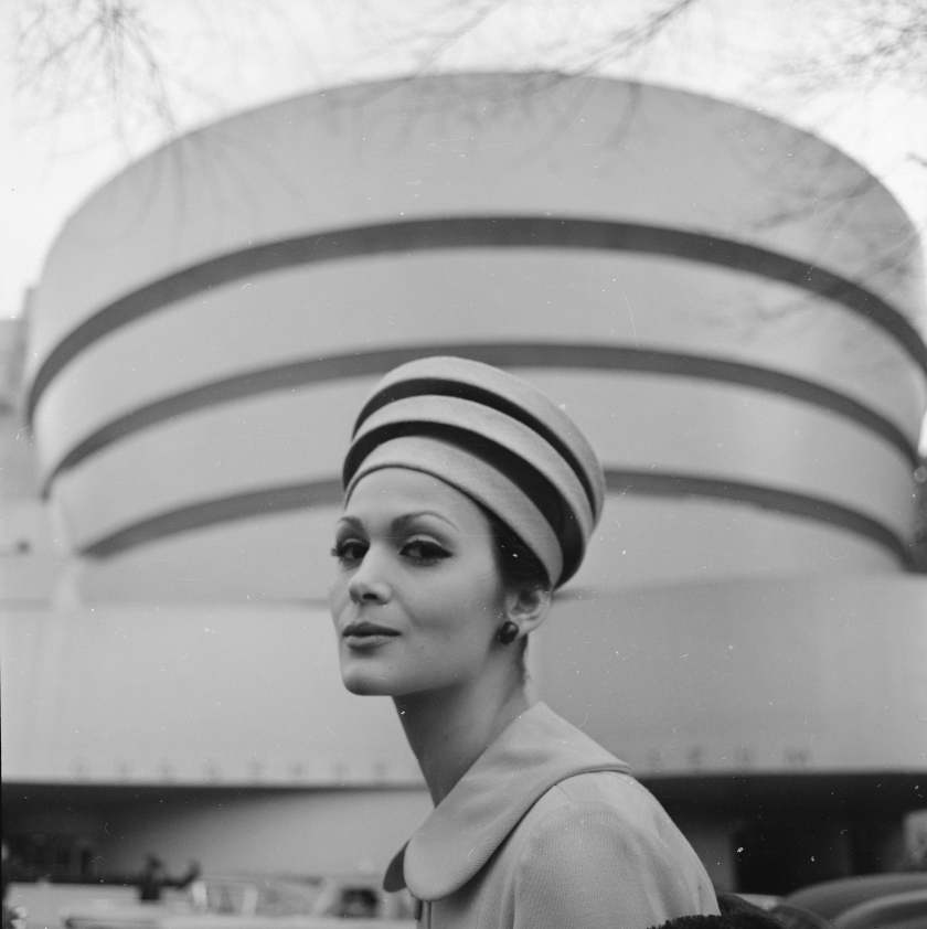 "Michael A. ""Tony"" Vaccaro. Architectural hats, 1960. (From the Library of Congress, Prints & Photographs Division)"