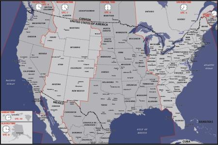 usa time zones map pictures to pin on pinterest pinsdaddy